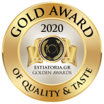 GOLD AWARD 2020 - ESTIATORIA.GR GOLDEN AWARDS@2x