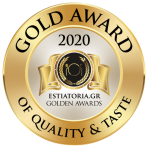 GOLD AWARD 2020 - ESTIATORIA.GR GOLDEN AWARDS@2x